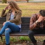 un couple qui veut divorcer pour faute